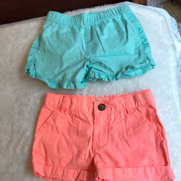 Carter's Other - 2 pair girls shorts